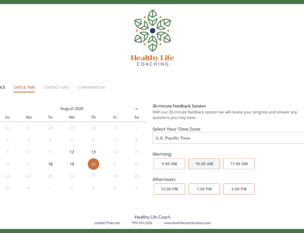 Easy Online Scheduling Platform